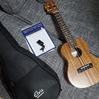 ウクレレ コンサート ELVIS エルビス K100C(コンサートウクレレ)
