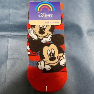 ディズニー(Disney)のミッキー&ミニー 靴下(靴下/タイツ)