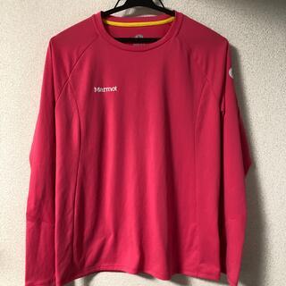 MARMOT - marmot 長袖シャツ ポリエステル100