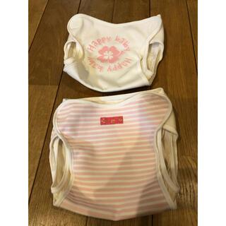 ニシキベビー(Nishiki Baby)の布おむつカバー90(ベビーおむつカバー)