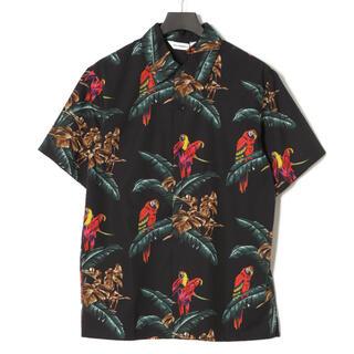 イレブンパリ(ELEVEN PARIS)の【新品】イレブンパリ オウム柄 半袖シャツ(シャツ)