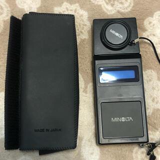 コニカミノルタ(KONICA MINOLTA)の紫外線強度計、UVラジオメーター(露出計)