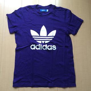 アディダス(adidas)のadidas Originals Tシャツ パープル 紫(Tシャツ/カットソー(半袖/袖なし))