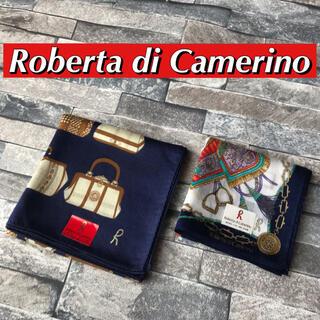ロベルタディカメリーノ(ROBERTA DI CAMERINO)の◆《新品》Roberta di Camerino レディース ハンカチ2枚セット(ハンカチ)