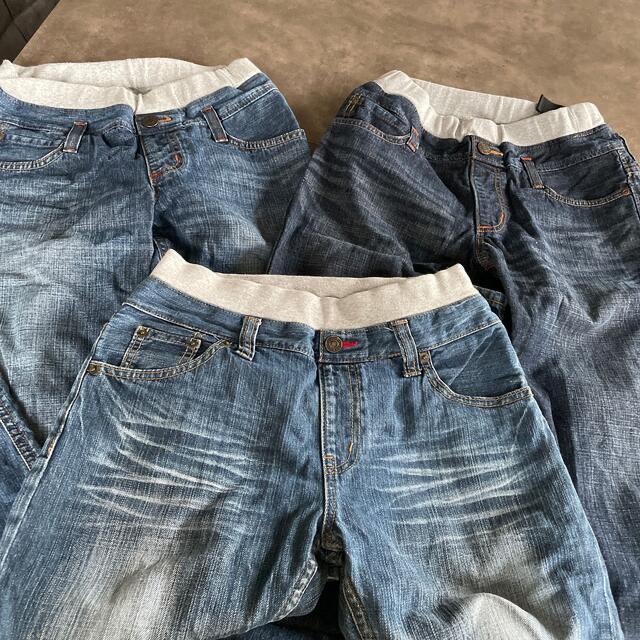 EDWIN(エドウィン)のジーンズ 3本セット キッズ/ベビー/マタニティのキッズ服男の子用(90cm~)(パンツ/スパッツ)の商品写真