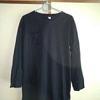 グランジエ トップス 黒色 長袖(Tシャツ(長袖/七分))