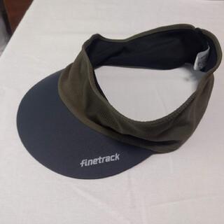 ファイントラック(finetrack)のfinetrack(ファイントラック) ドラウド バイザー(登山用品)