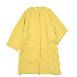 ミラオーウェン(Mila Owen)の新品 Mila Owen スプリングコート 黄色 M(スプリングコート)