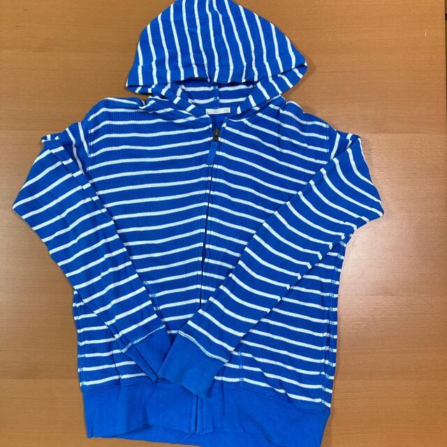 GU(ジーユー)の子供用 パーカー キッズ/ベビー/マタニティのキッズ服男の子用(90cm~)(ジャケット/上着)の商品写真