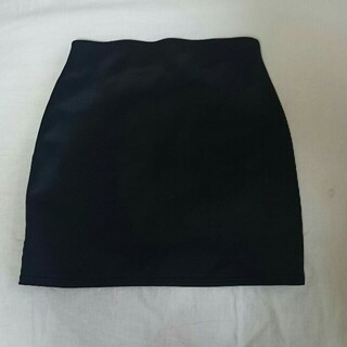 ギャルスター(GALSTAR)のGALSTAR 黒 ボンディング素材 セクシー キレイめタイトミニスカート S(ミニスカート)