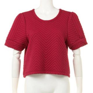 リリーブラウン(Lily Brown)のキルティングトップス(Tシャツ(半袖/袖なし))