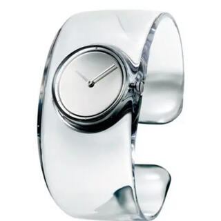 イッセイミヤケ(ISSEY MIYAKE)のISSEYMIYAKE O オー クリア SILAW001 [正規品](腕時計)