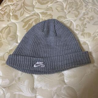 NIKE - NIKE SB ニットキャップ ビーニー グレー ナイキ 帽子