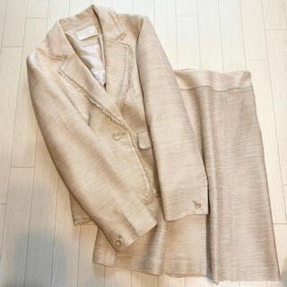 エニィスィス(anySiS)のanysis ラメ入り サマーツイード スカートスーツ 2/3(スーツ)