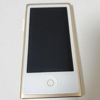 アイポッド(iPod)のiPod nano (第 7 世代 )(ポータブルプレーヤー)
