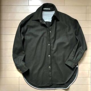 アクネ(ACNE)のAcne studio ウールシャツ(シャツ/ブラウス(長袖/七分))