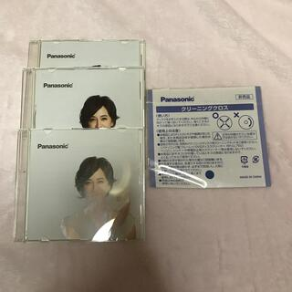 パナソニック(Panasonic)のPanasonic ブルーレイディスク 3枚 クリーニングクロスつき(その他)