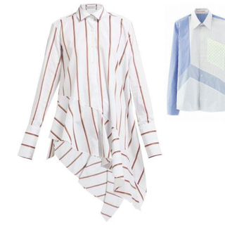 トゥモローランド(TOMORROWLAND)のtomorrowland Palmer Harding 裾フリルシャツ(シャツ/ブラウス(長袖/七分))