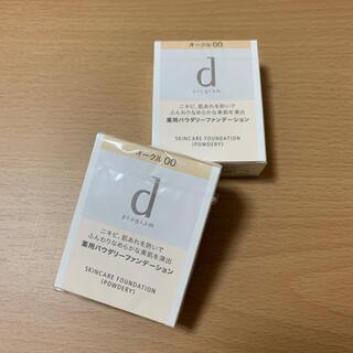 ディープログラム(d program)の【未開封】dプログラムファンデーションレフィル【1個】(ファンデーション)