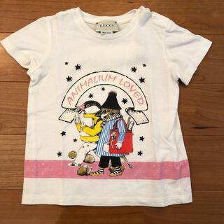グッチ(Gucci)の定価2万以上 GUCCI  グッチ ベビー キッズ Tシャツ 美品(Tシャツ/カットソー)