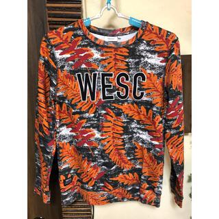 ウィーエスシー(WeSC)のWESC  ウィーエスシー レディース ロンT 裏起毛 Sサイズ(Tシャツ(長袖/七分))