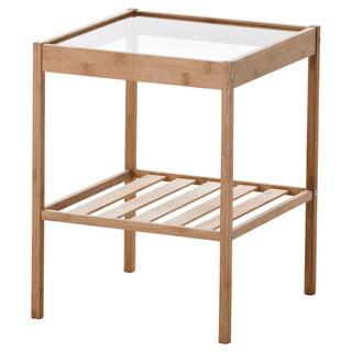 イケア(IKEA)のIKEAイケア  ベッドサイドテーブル NESNA ネスナ(コーヒーテーブル/サイドテーブル)