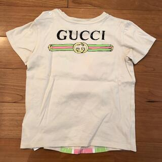 グッチ(Gucci)の定価2万以上 GUCCI グッチ キッズ Tシャツ ロゴ入り(Tシャツ/カットソー)
