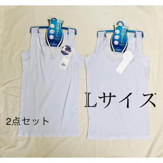 グンゼ(GUNZE)のグンゼ クールマジック Lサイズ タンクトップ インナー 肌着(アンダーシャツ/防寒インナー)
