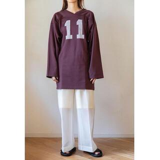 フィーニー(PHEENY)のpheeny21ss フットボールスリーブTシャツ(Tシャツ(長袖/七分))