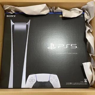 プレイステーション(PlayStation)のPS5 デジタル・エディション 本体 PlayStation5(家庭用ゲーム機本体)