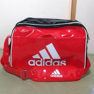 adidas - 【美品】adidas スポーツバッグ 赤