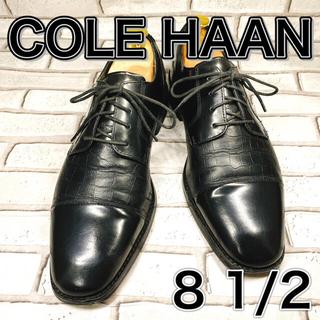 Cole Haan - 【SALE】COLE HAAN コールハーン ストレートチップ 外羽根 ブラック