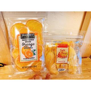 ★ヘルシーなおやつに★トレダージョーズ  ドライマンゴー、ドライオレンジ セット(フルーツ)