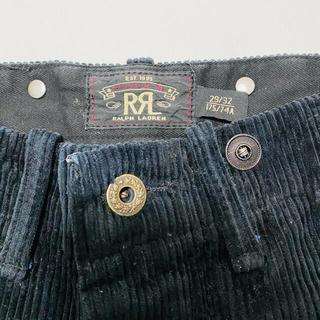 ダブルアールエル(RRL)の【美品】RRL Black Corduroy Pant 29/32(ワークパンツ/カーゴパンツ)