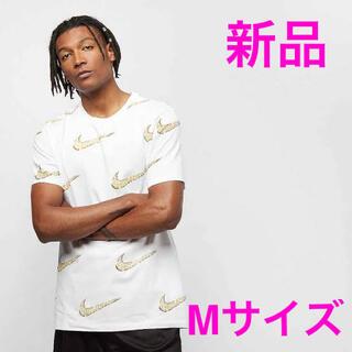 ナイキ(NIKE)の激レア 新品 NIKE 総柄 ダイヤ柄 BIG SWOOSH Mサイズ (Tシャツ/カットソー(半袖/袖なし))