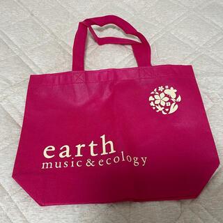 アースミュージックアンドエコロジー(earth music & ecology)のearth music&ecology バッグ(エコバッグ)