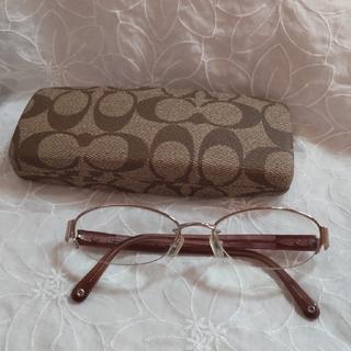 コーチ(COACH)のCOACH 眼鏡 ケース付き(サングラス/メガネ)