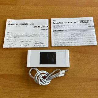 ファーウェイ(HUAWEI)のポケットWi-Fi W05(その他)