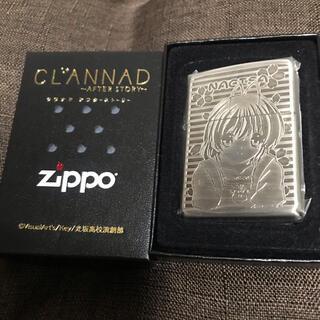 ジッポー(ZIPPO)の未開封 CLANNAD クラナド アフターストーリー zippo 古河 渚(その他)