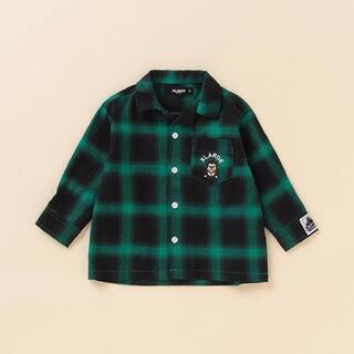 エクストララージ(XLARGE)の XLARGEキッズ チェックシャツ(シャツ/カットソー)