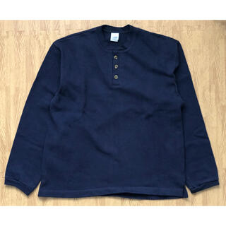 エンジニアードガーメンツ(Engineered Garments)のCAMBER (キャンバー) HEAVYWEIGHT HENRYNECK(Tシャツ/カットソー(半袖/袖なし))