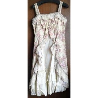 ヴィクトリアンメイデン(Victorian maiden)のVictorian maiden ローズレースクラシカルブーケドレス(ひざ丈ワンピース)