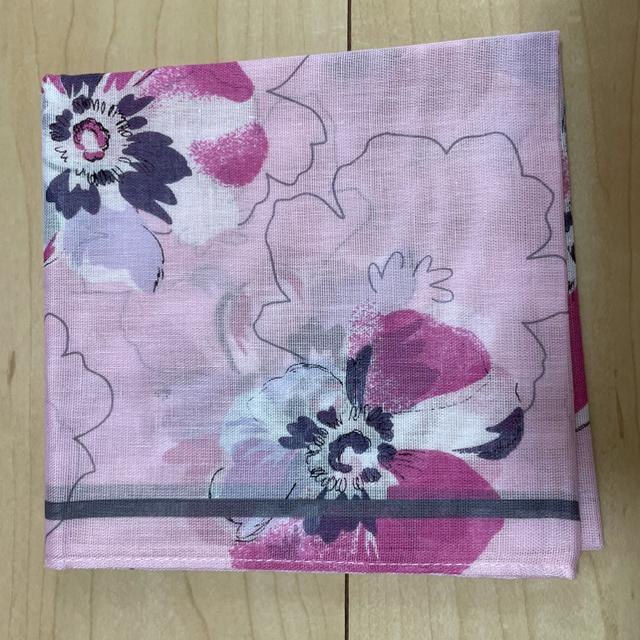 U.P renoma(ユーピーレノマ)のレノマ ハンカチ ピンク レディースのファッション小物(ハンカチ)の商品写真