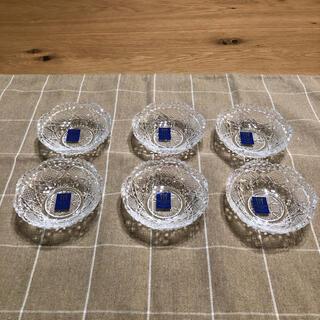 トウヨウササキガラス(東洋佐々木ガラス)の【新品6個】東洋佐々木ガラス のぞき 風雅 豆皿  LP00610(食器)