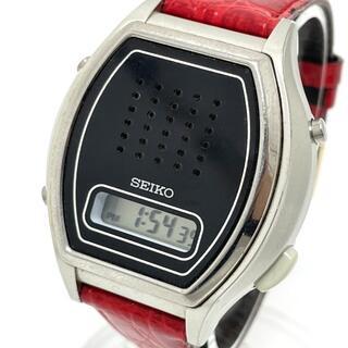 セイコー(SEIKO)のセイコー A862-00A0 クォーツ メンズ腕時計 音声デジタル ヴィンテージ(腕時計(アナログ))