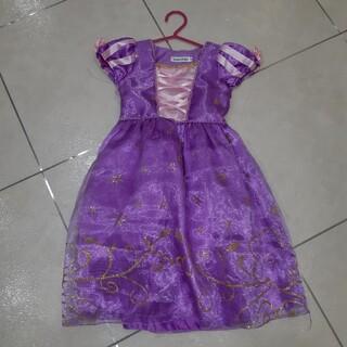 ラプンツェル ドレス 120(衣装一式)