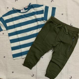 ザラキッズ(ZARA KIDS)の【新品未使用品】ZARA KIDS セット(Tシャツ/カットソー)