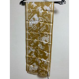 COACH - コーチ COACH ロングスカーフ シルクスカーフ
