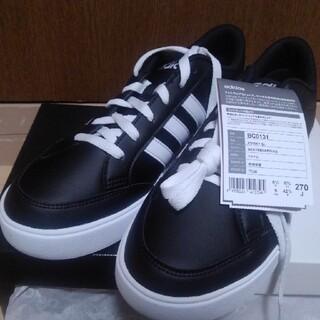 アディダス(adidas)のadidas スケートボーディング VS SET 黒 27cm(スニーカー)