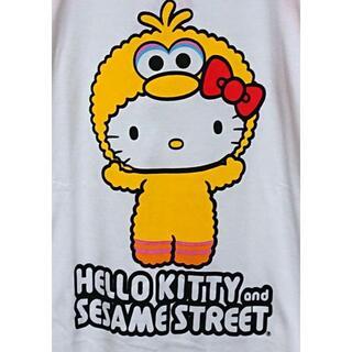 セサミストリート(SESAME STREET)の新品 ハローキティxセサミストリート コラボT(Tシャツ(半袖/袖なし))